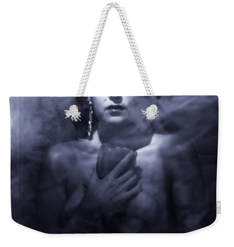 Woman Weekender Tote Bag featuring the photograph Ghost Woman by Scott Sawyer