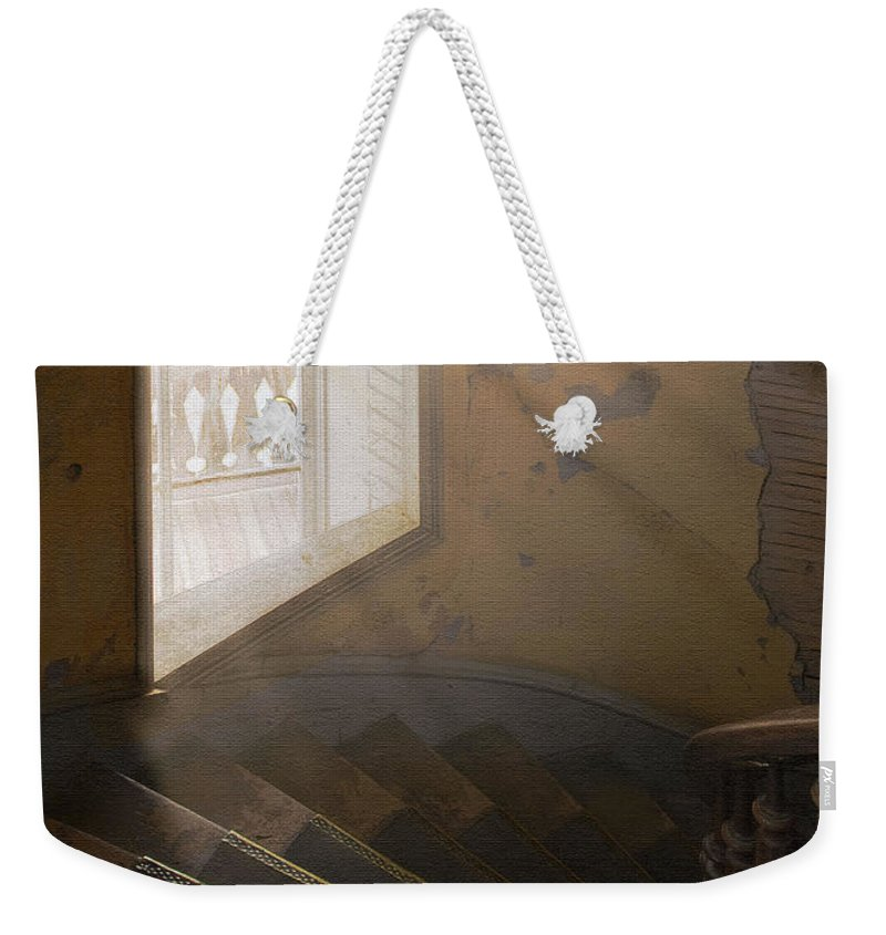 Architecture Weekender Tote Bag featuring the photograph Ghostly Light by Sharon Foster