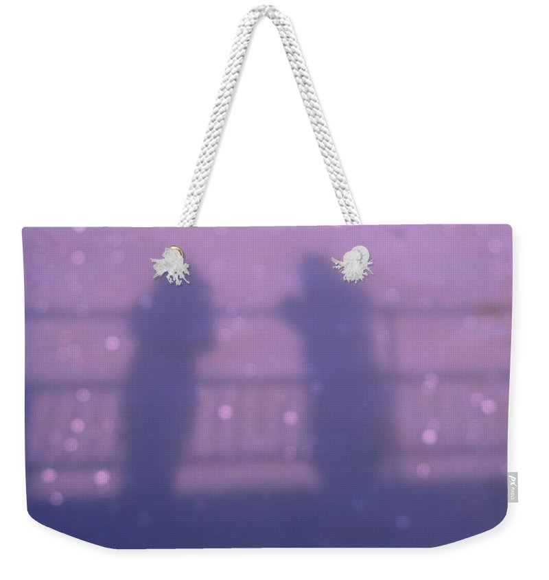 Ghosts Weekender Tote Bag featuring the photograph Ghosts by Maria Joy