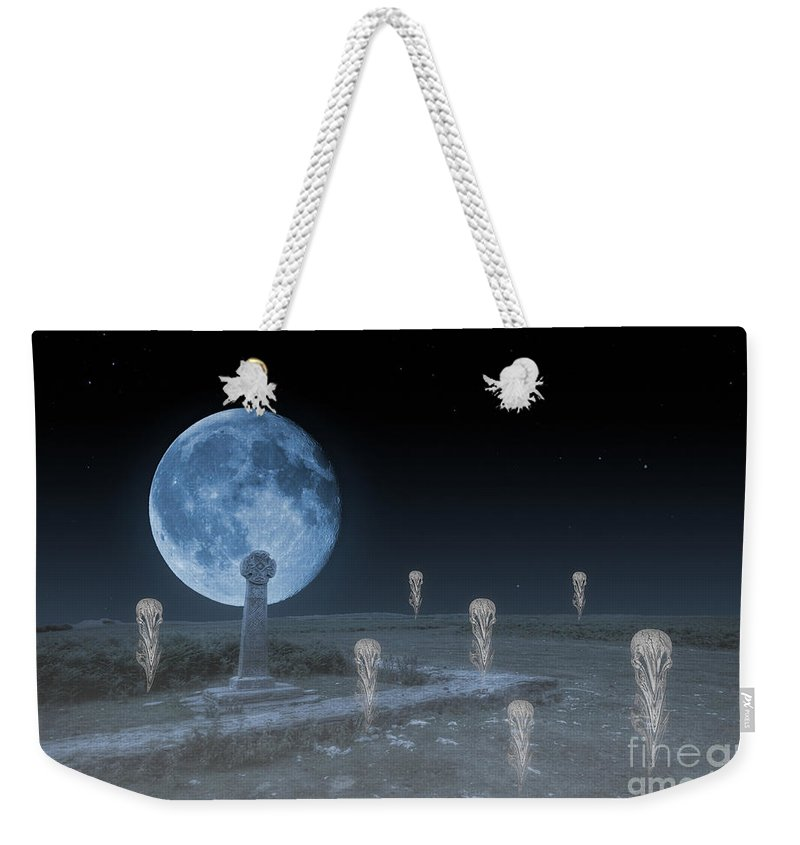 Ghosts On The Common Weekender Tote Bag featuring the photograph Ghosts On The Common by Steve Purnell