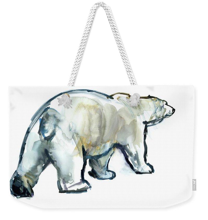 Polar Bear Weekender Tote Bags