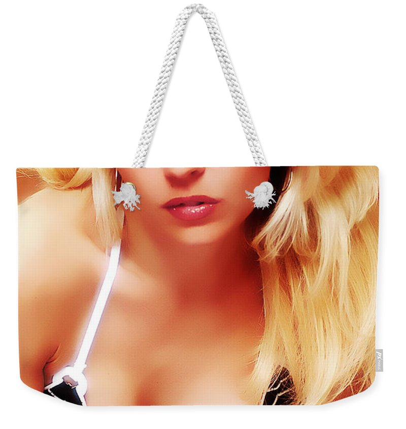 Clay Weekender Tote Bag featuring the photograph Glam by Clayton Bruster