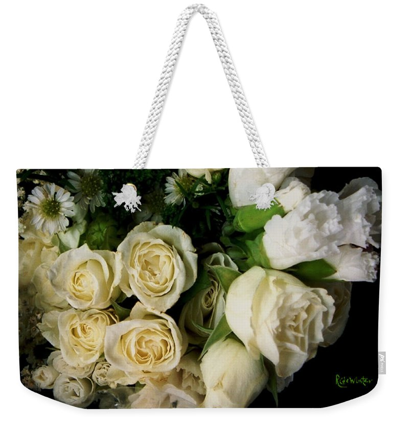 Roses Weekender Tote Bag featuring the photograph Glamour by RC deWinter