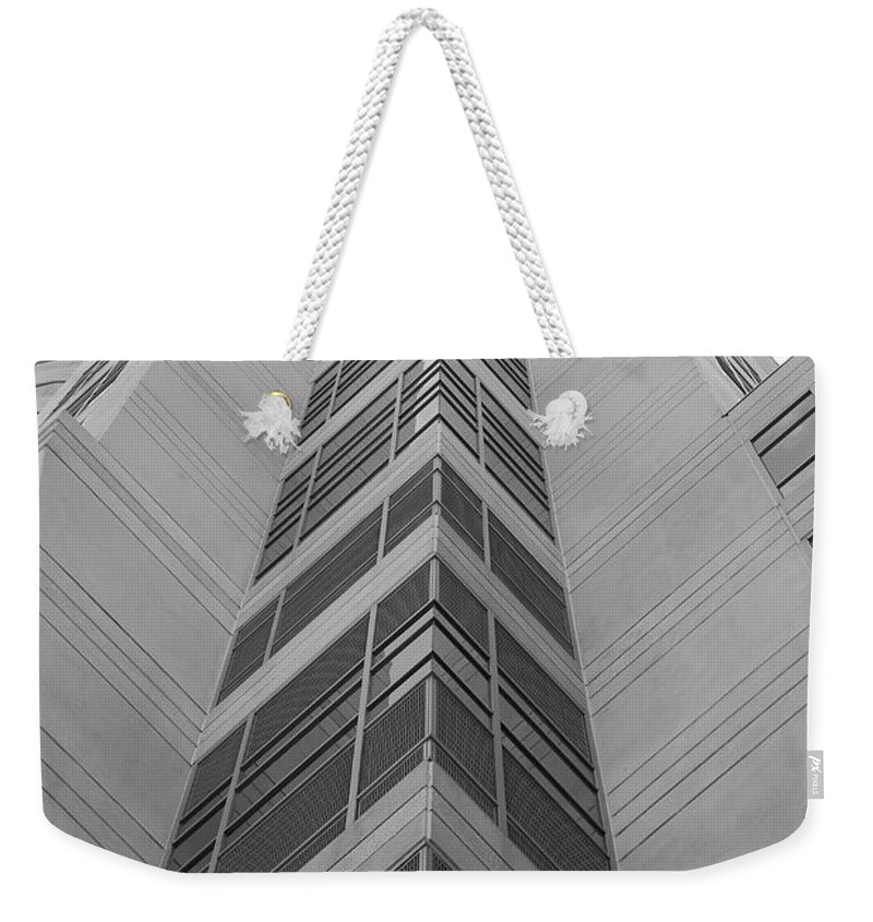 Architecture Weekender Tote Bag featuring the photograph Glass Tower by Rob Hans
