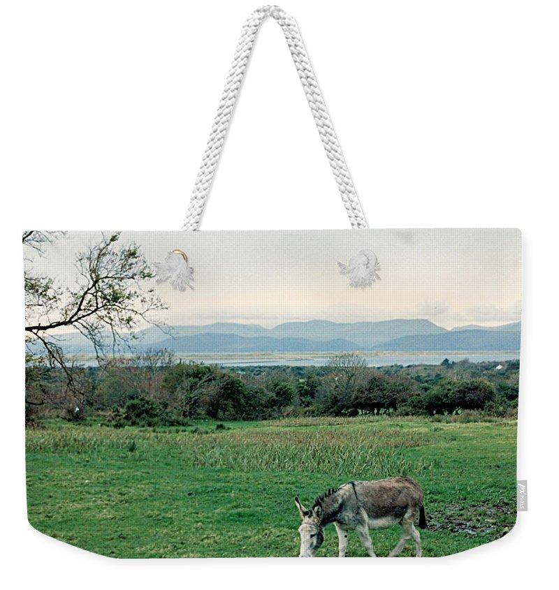Ireland Weekender Tote Bag featuring the photograph Glenbeigh Ireland by Lauri Novak