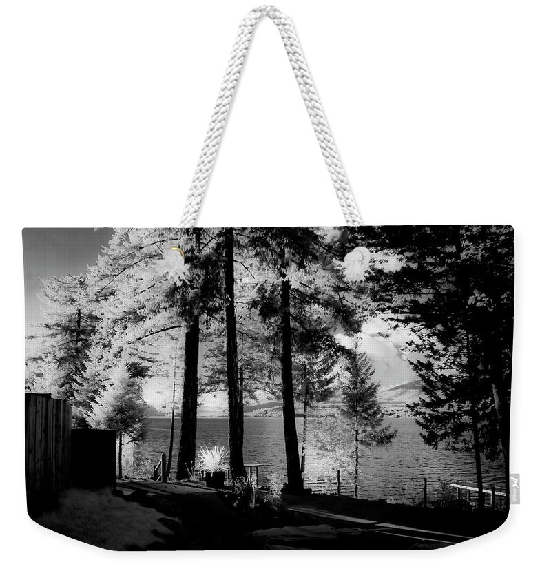 Scenic Weekender Tote Bag featuring the photograph Glow 2 by Lee Santa
