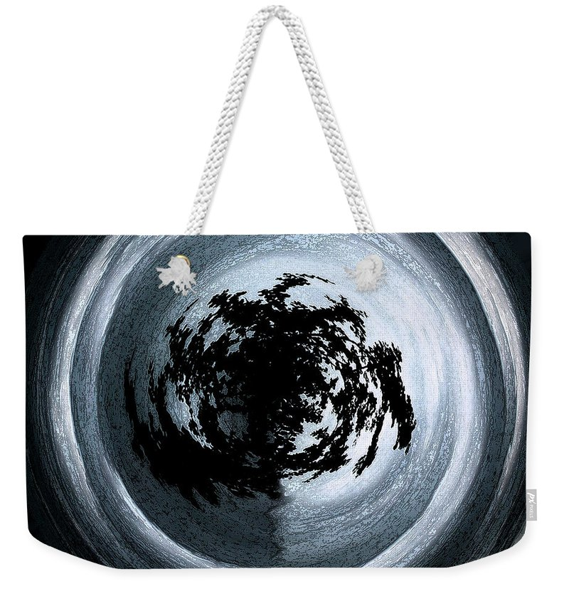 Abstract Weekender Tote Bag featuring the photograph Glowing Act by Mykel Davis