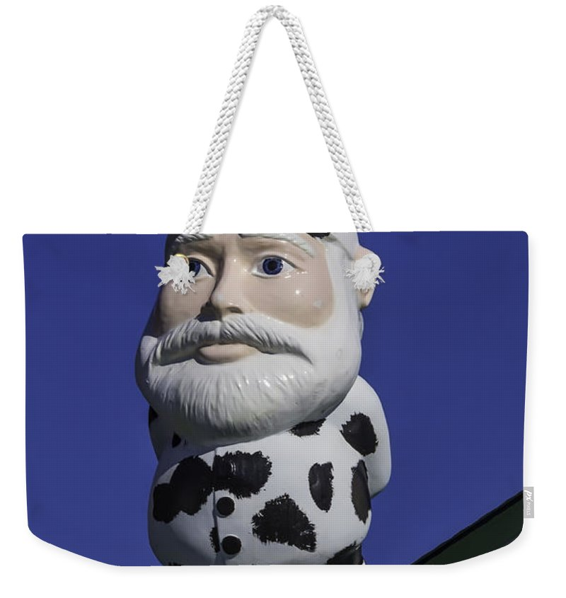 Gnome Weekender Tote Bag featuring the photograph Gnome by Garry Gay
