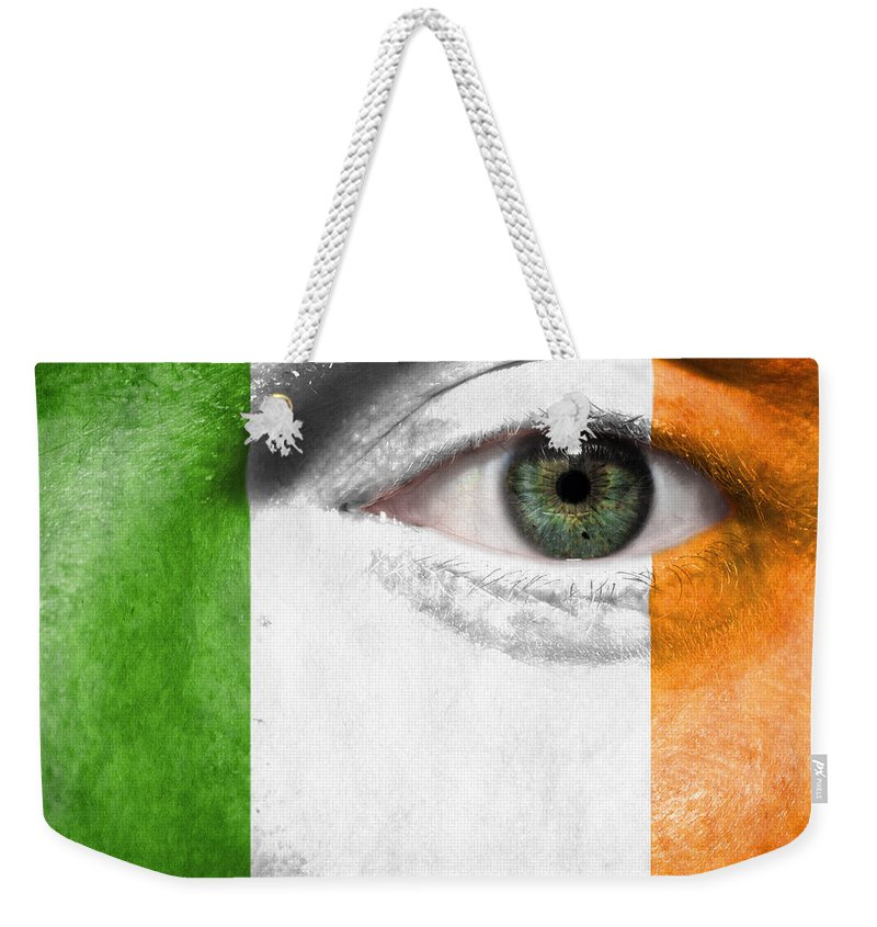 2012 Weekender Tote Bag featuring the photograph Go Ireland by Semmick Photo