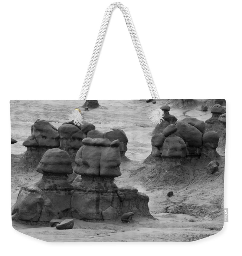 Goblin Weekender Tote Bag featuring the photograph Goblin Valley 0204 by Bob Neiman