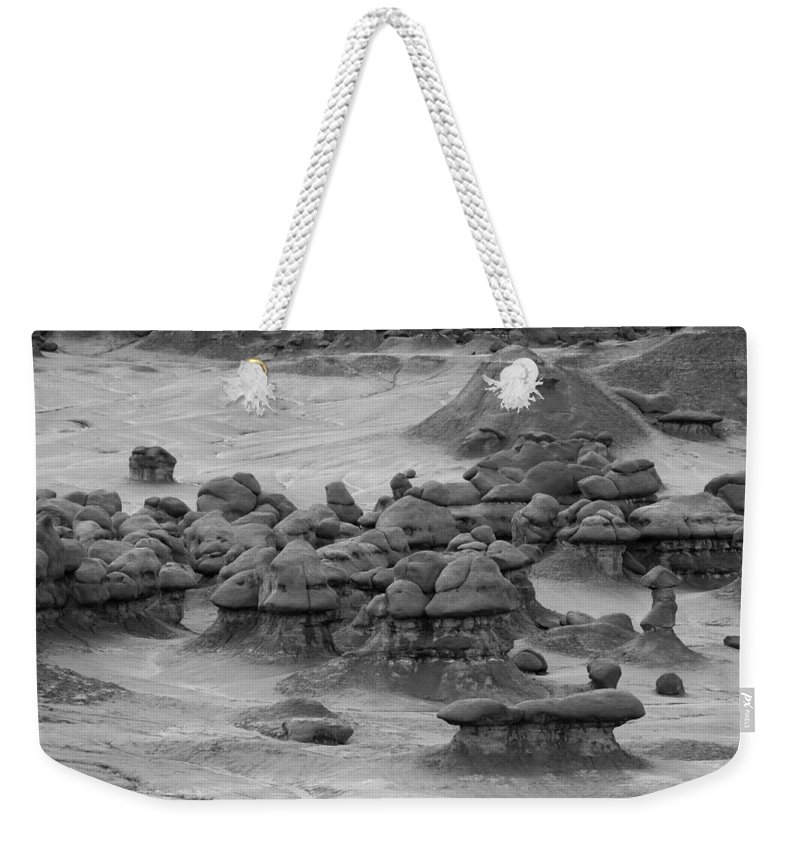 Goblin Weekender Tote Bag featuring the photograph Goblin Valley 0225 by Bob Neiman