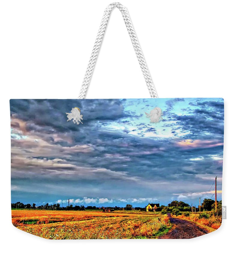 Farm Weekender Tote Bag featuring the photograph Goin' Home by Steve Harrington