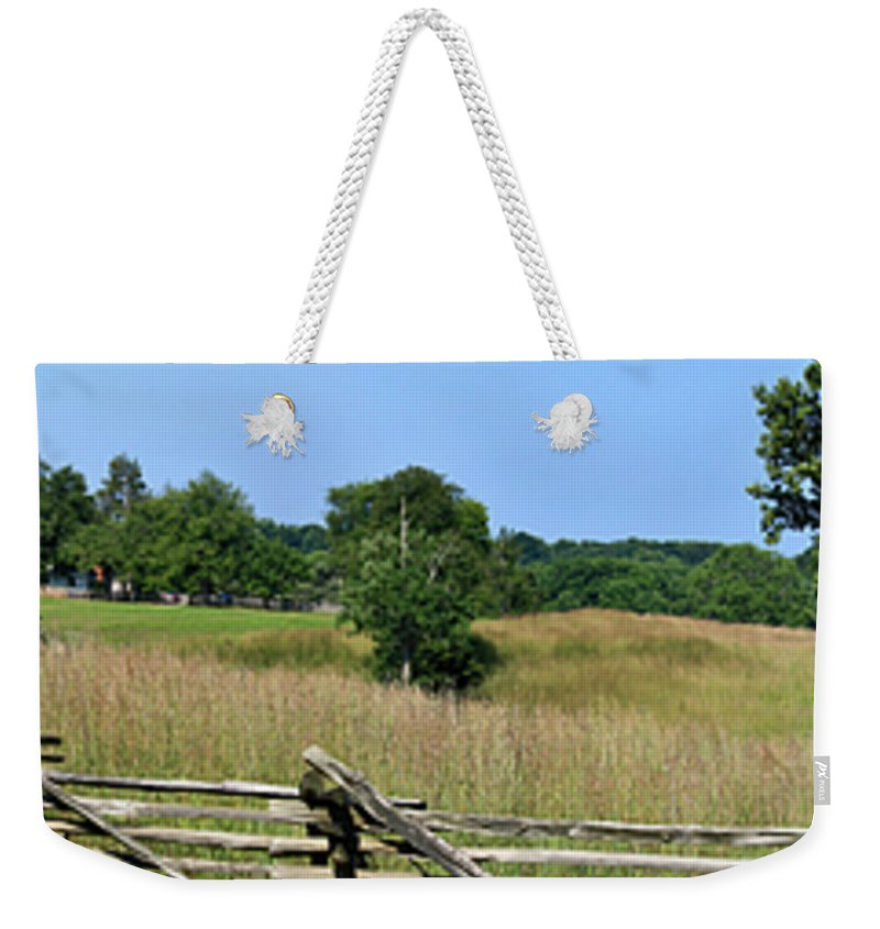 Appomattox Weekender Tote Bag featuring the photograph Going To Appomattox Court House by Teresa Mucha