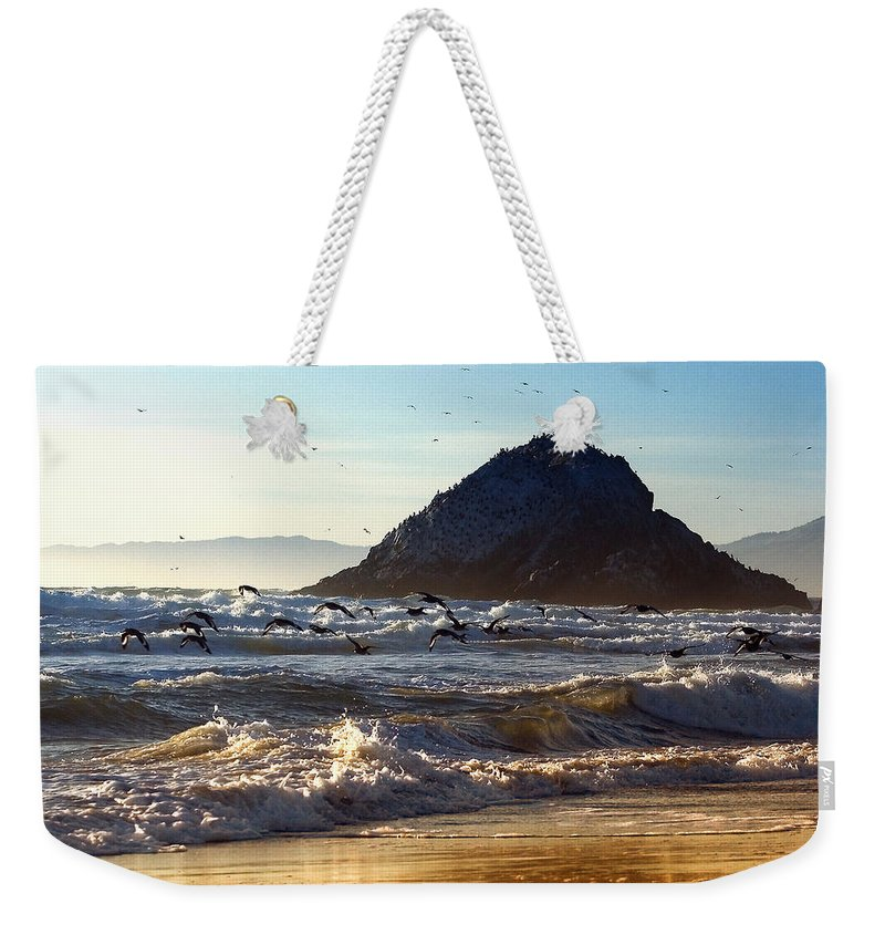 Nature Weekender Tote Bag featuring the photograph Golden Day by John K Sampson
