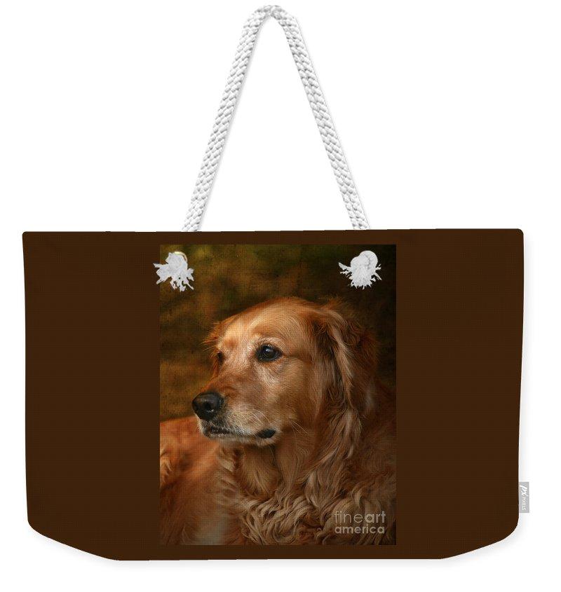 Golden Retrievers Weekender Tote Bags