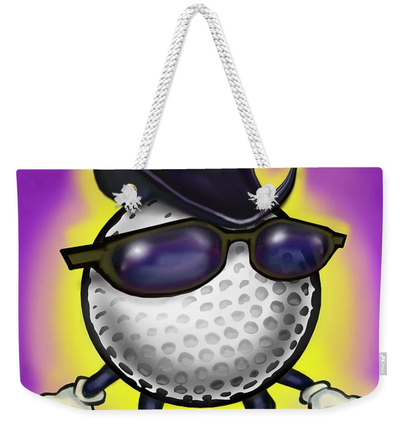 Golf Weekender Tote Bag featuring the digital art Golf Classic by Kevin Middleton