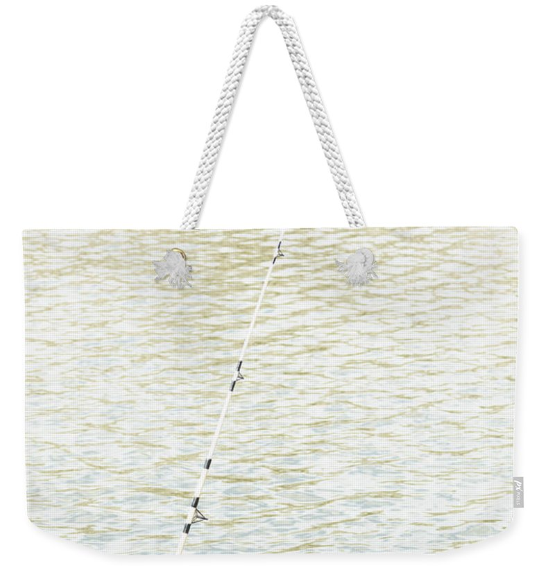 Fishing Weekender Tote Bag featuring the photograph Gone Fishing by Margie Hurwich