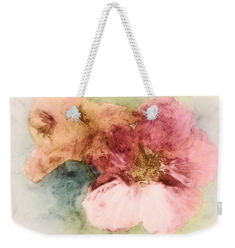 Flowers Weekender Tote Bag featuring the digital art Gone Native by RC DeWinter