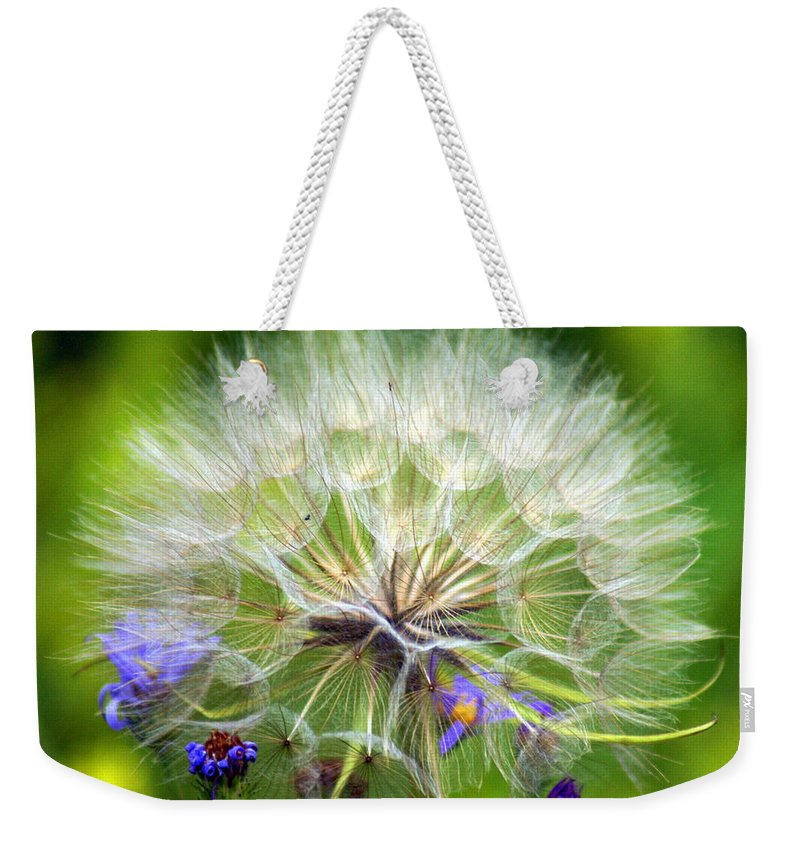 Weekender Tote Bag featuring the photograph Gone To Seed by Marty Koch