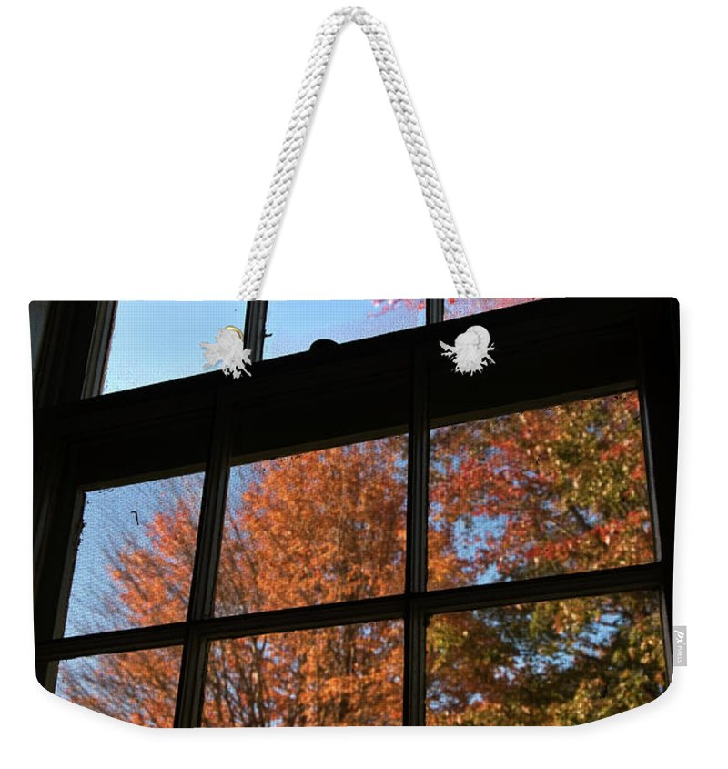 autumn Colors Weekender Tote Bag featuring the photograph Good Morning Autumn by Paul Mangold