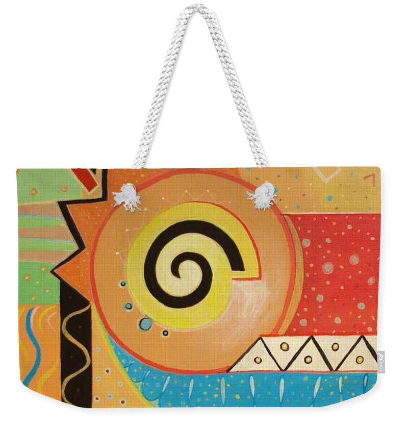 Rise And Shine Weekender Tote Bag featuring the painting Good Morning by Helena Tiainen