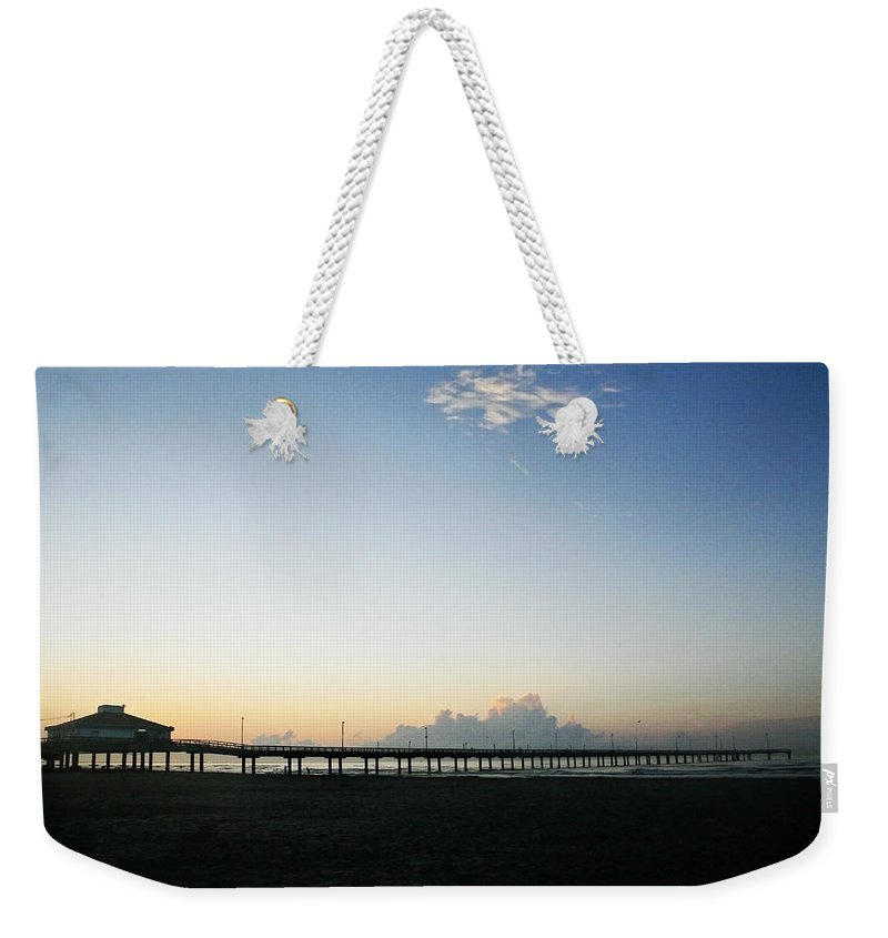 Water Weekender Tote Bag featuring the photograph Good Morning by Marilyn Hunt