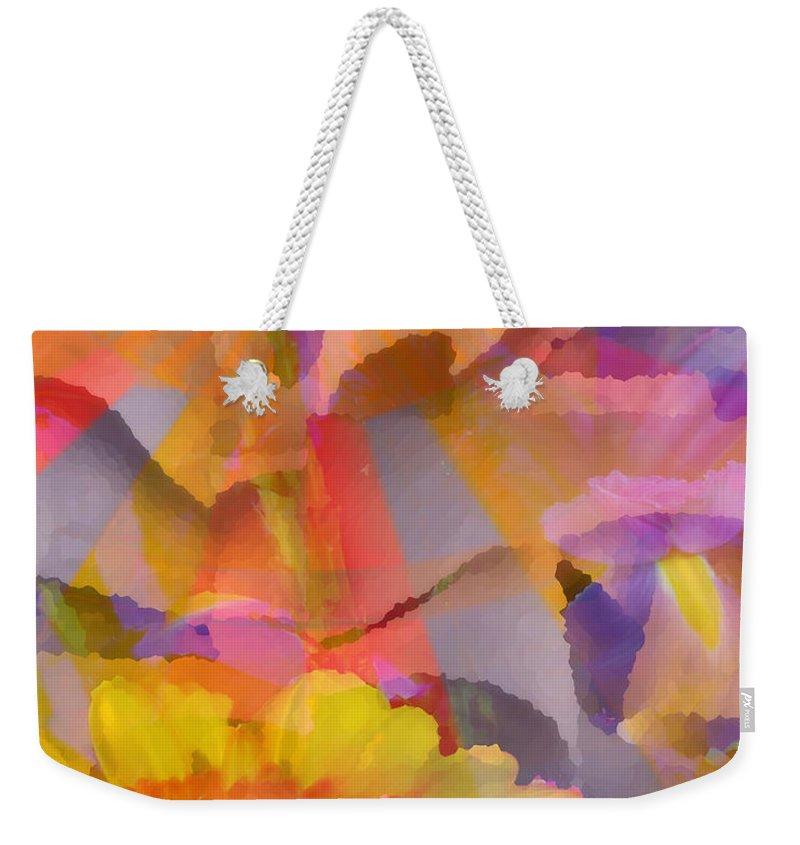 Balloon Weekender Tote Bag featuring the digital art Good Ol' Summertime by Ken Walker