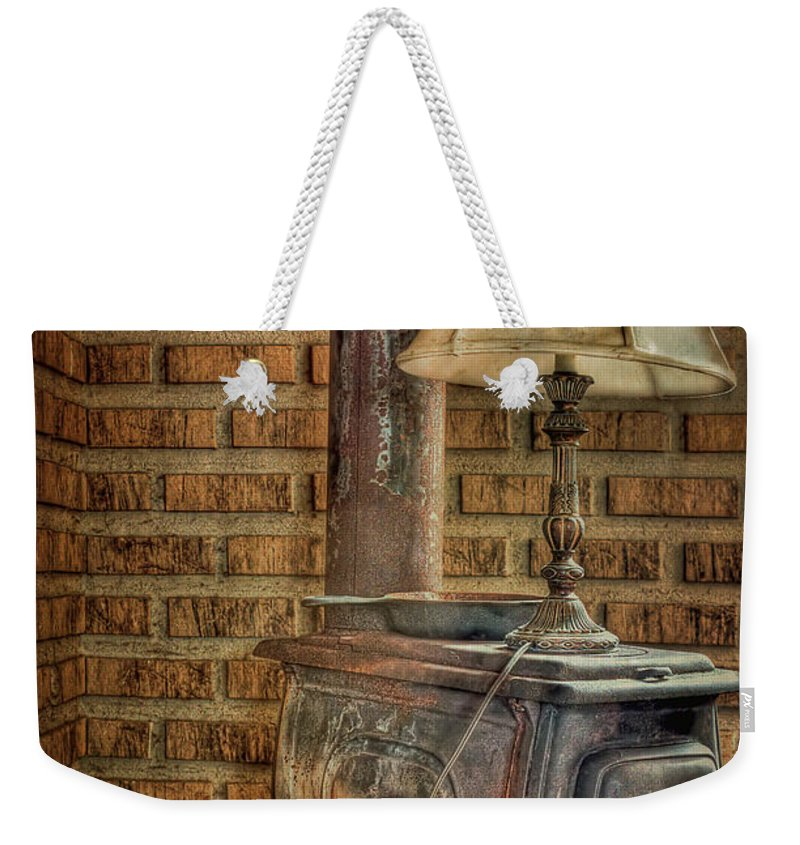 Oven Weekender Tote Bag featuring the photograph Good Old Days by Evelina Kremsdorf