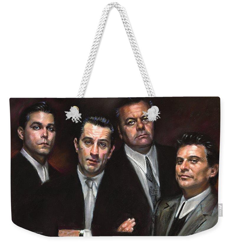 Crime Weekender Tote Bags