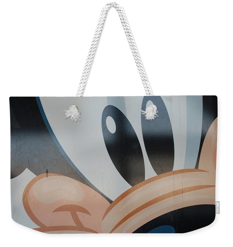 Disney Weekender Tote Bag featuring the photograph Goofy by Rob Hans