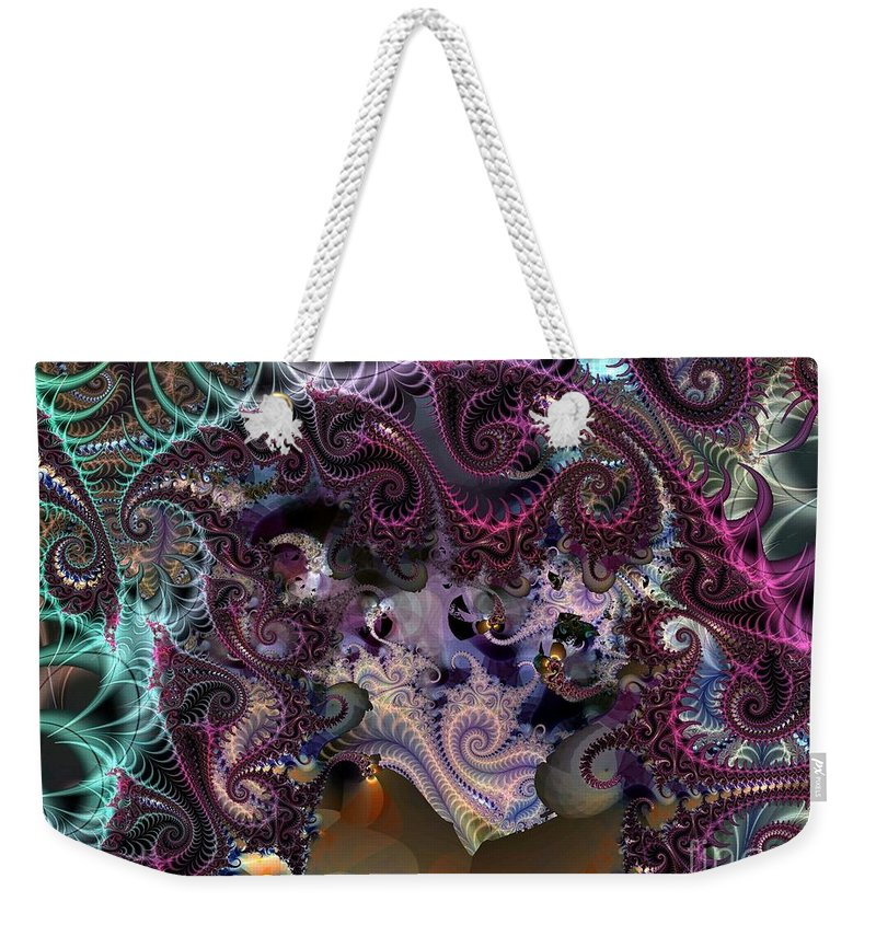 Gorgeous Weekender Tote Bag featuring the digital art Gorgeous Pastels by Ron Bissett