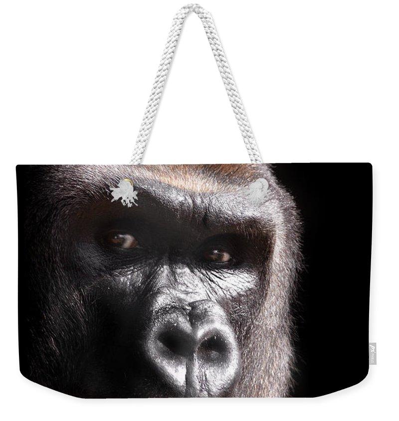 Gorilla Weekender Tote Bags