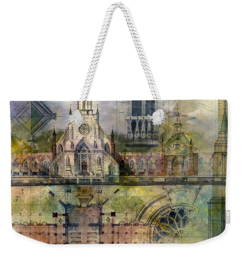 Church Weekender Tote Bags