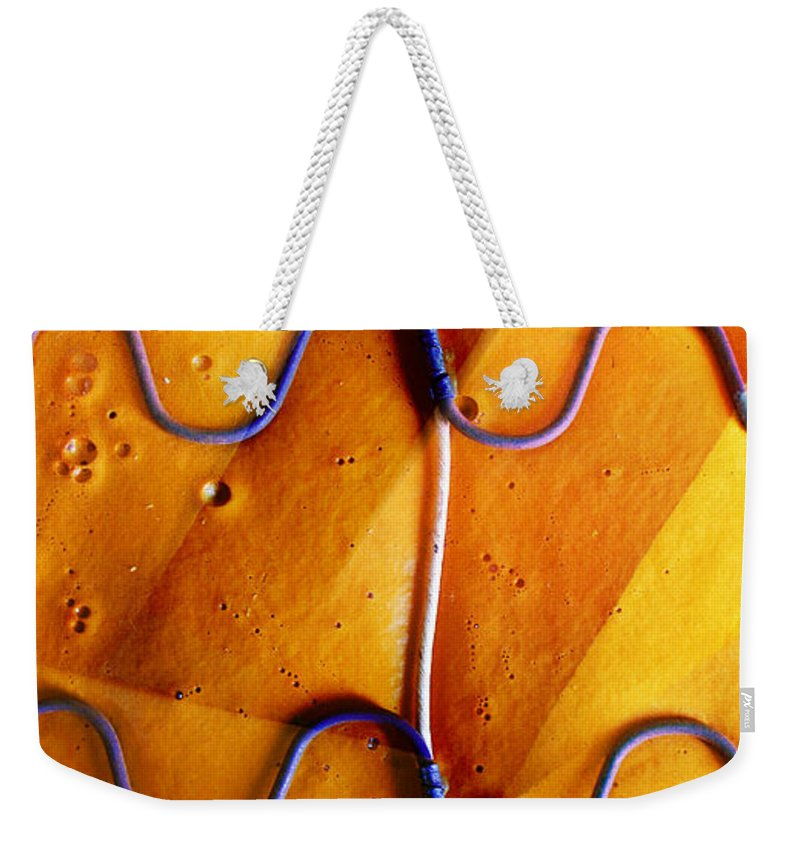Skip Hunt Weekender Tote Bag featuring the photograph Government Cheese by Skip Hunt