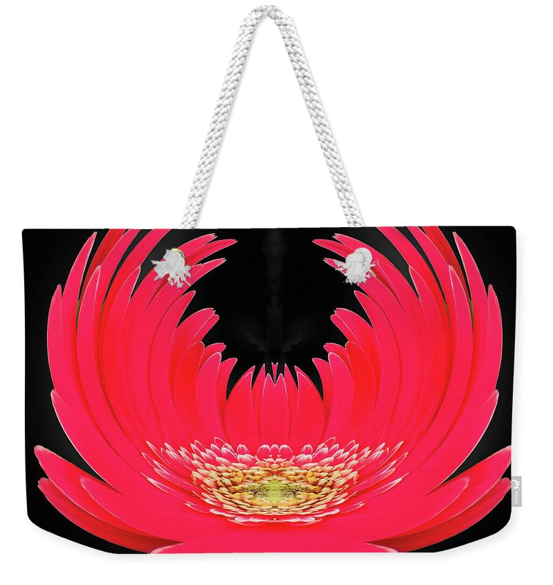 Digital Art Weekender Tote Bag featuring the photograph Graceful Elegance by Marian Bell