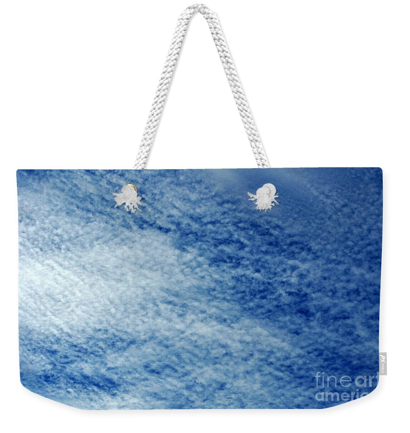Clay Weekender Tote Bag featuring the photograph Grainy Sky by Clayton Bruster