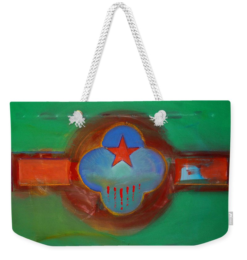 Star Weekender Tote Bag featuring the painting Grand Canal by Charles Stuart