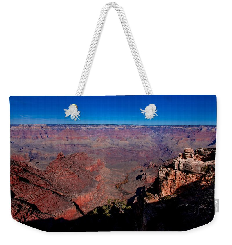 Grand Canyon National Park Weekender Tote Bag featuring the photograph Grand Canyon 1 by Donna Corless
