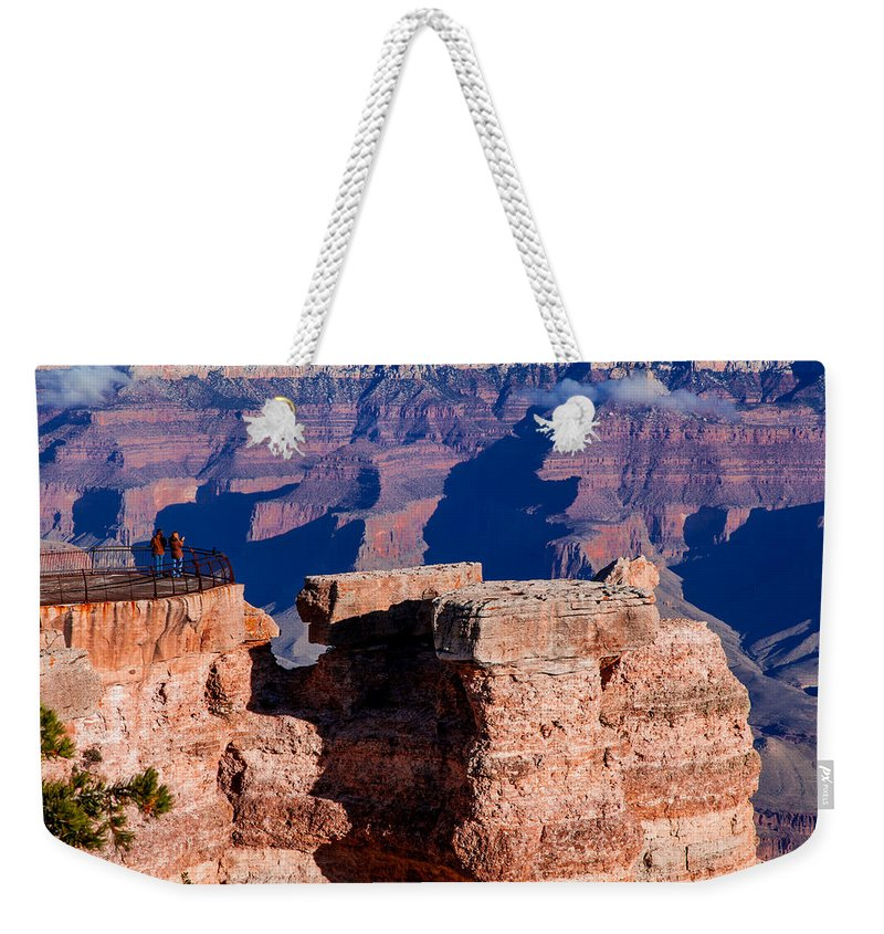 Grand Canyon National Park Weekender Tote Bag featuring the photograph Grand Canyon 16 by Donna Corless