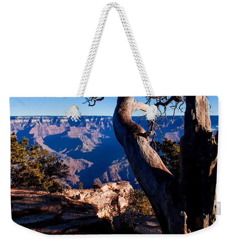 Grand Canyon National Park Weekender Tote Bag featuring the photograph Grand Canyon 27 by Donna Corless