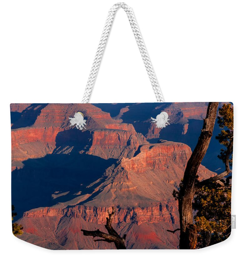 Grand Canyon National Park Weekender Tote Bag featuring the photograph Grand Canyon 30 by Donna Corless