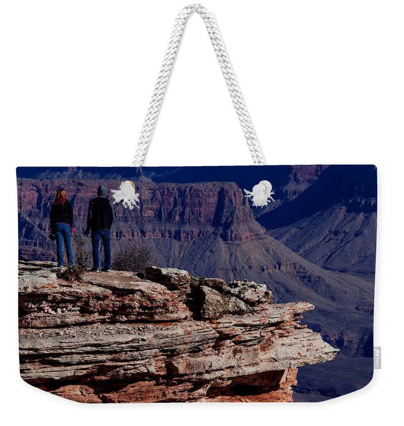 Grand Canyon National Park Weekender Tote Bag featuring the photograph Grand Canyon 5 by Donna Corless