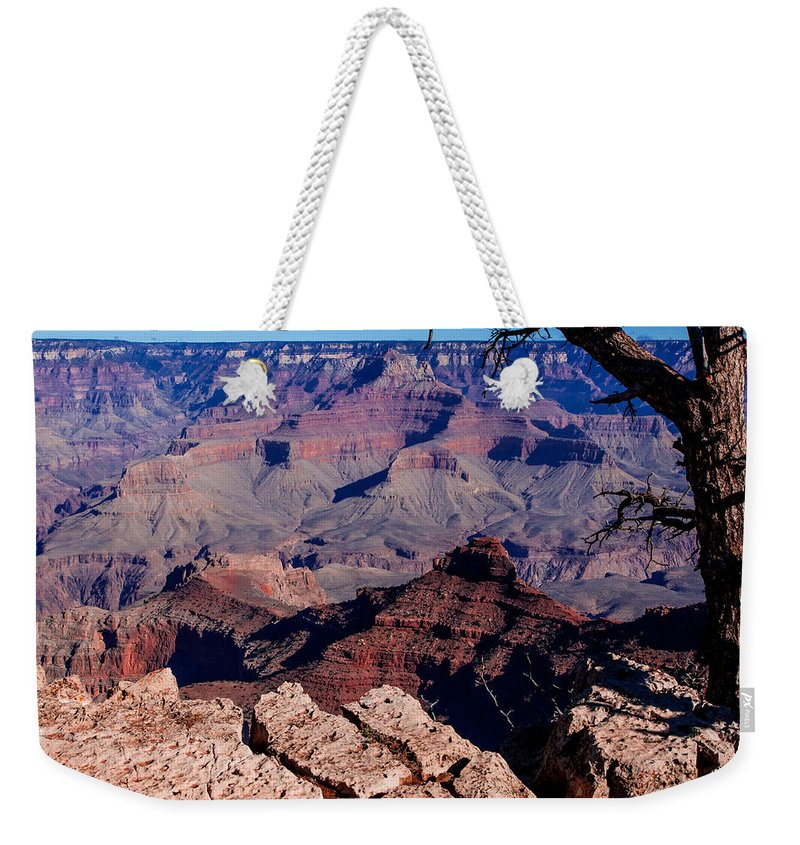 Grand Canyon National Park Weekender Tote Bag featuring the photograph Grand Canyon 7 by Donna Corless