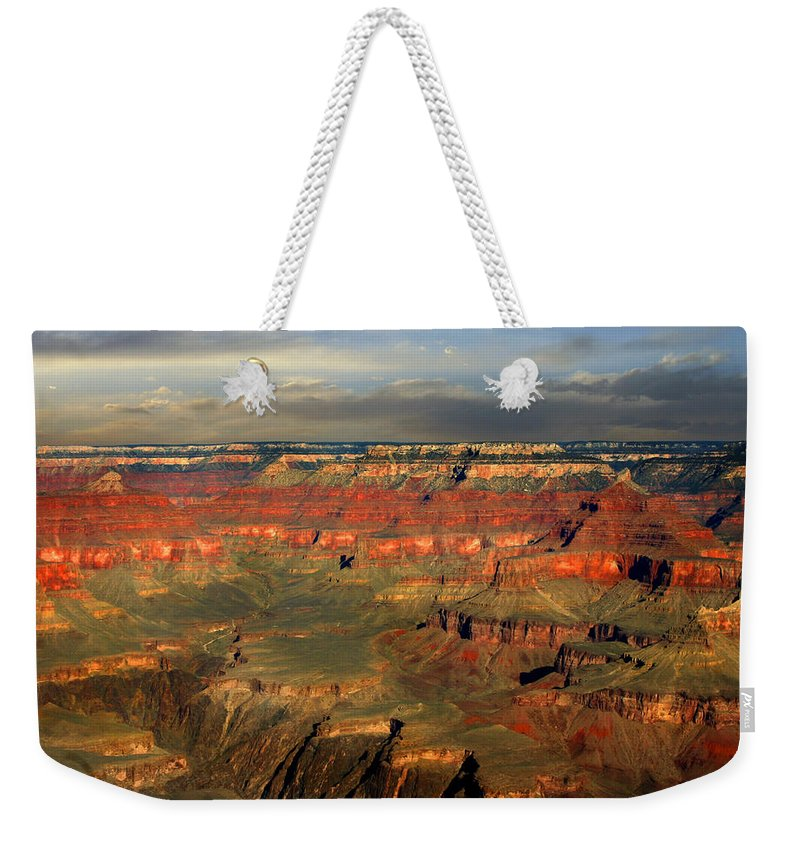Grand Canyon Weekender Tote Bag featuring the photograph Grand Canyon by Anthony Jones