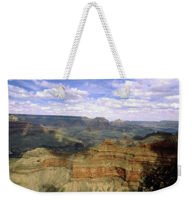 Arizona Weekender Tote Bag featuring the photograph Grand Canyon by Gary Wonning