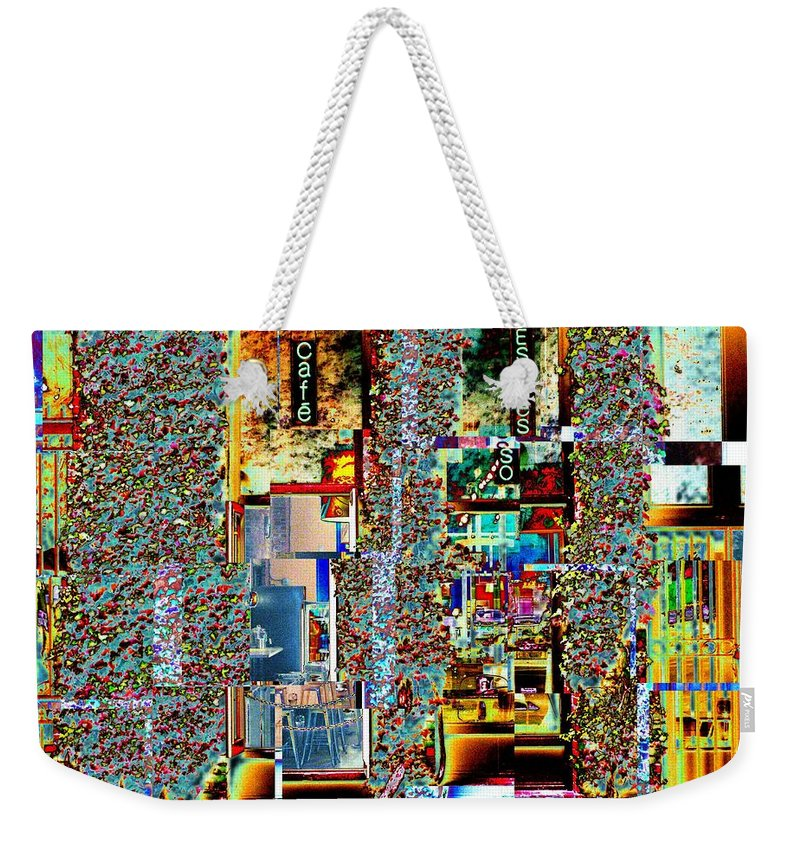 Seattle Weekender Tote Bag featuring the photograph Grand Central Bakery 1 by Tim Allen