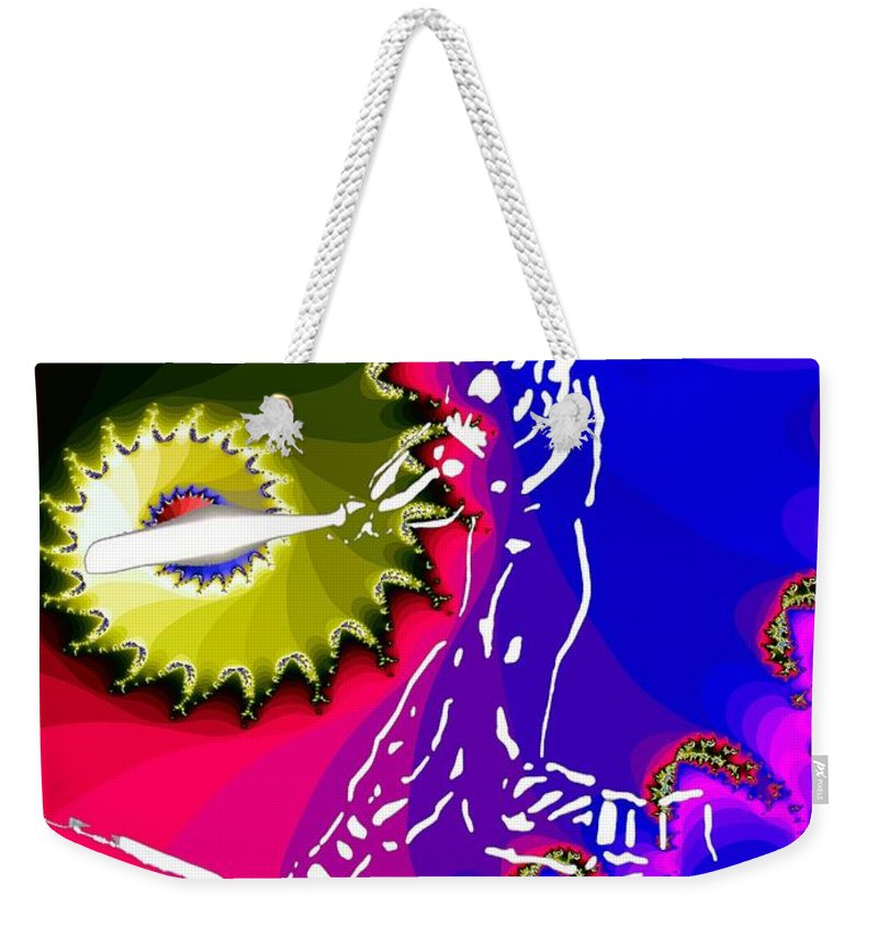 Baseball Weekender Tote Bag featuring the photograph Grand Salami by Tim Allen