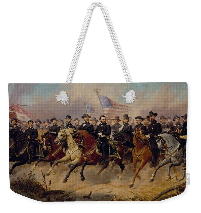 Army Weekender Tote Bags
