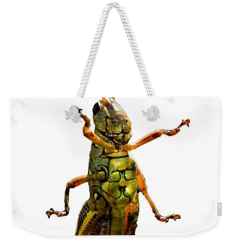 Grasshopper Weekender Tote Bags