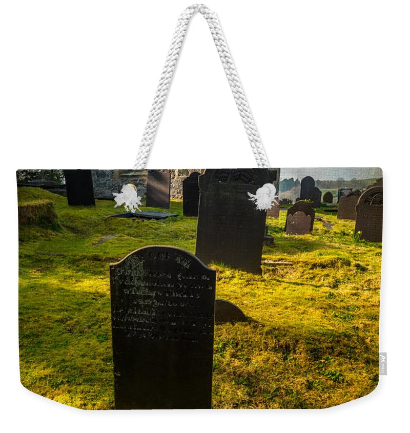 Ancient Weekender Tote Bag featuring the photograph Grave Yard by Adrian Evans